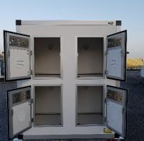 REMORQUE TRANSPORT DE CHIENS 12 BOXES