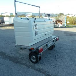 REMORQUE TRANSVERSALE CAMPING CAR SAWIKO WHEELY