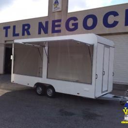 TH520T REMORQUE MAGASIN FOOD-TRAILER