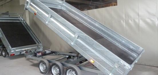 VSN bennes de 2t à 3,5t - 2 ou 3 essieux